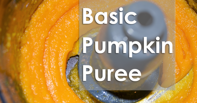 Basic Pumpkin Puree