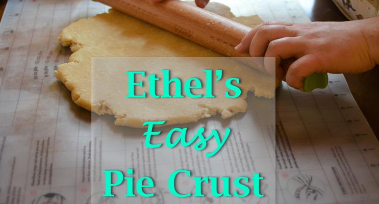 Ethel's Easy Pie Crust
