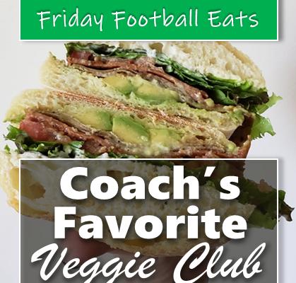 Favorite Veggie Club Sandwich
