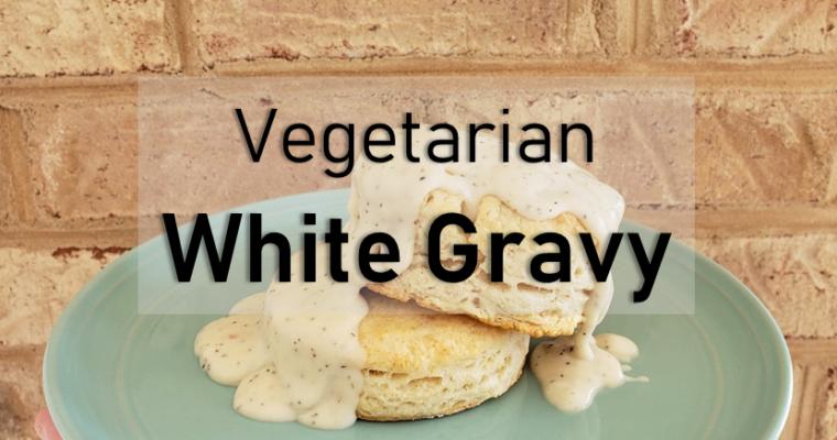 Vegetarian White Gravy