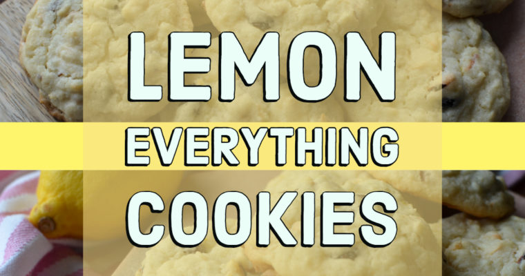 Lemon Everything Cookies