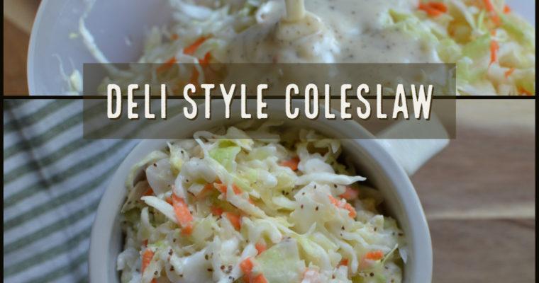 Deli Style Coleslaw