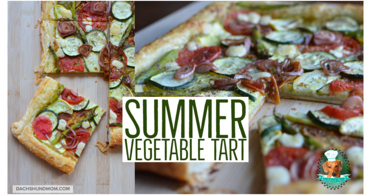 Summer Vegetable Puff Pastry Tart