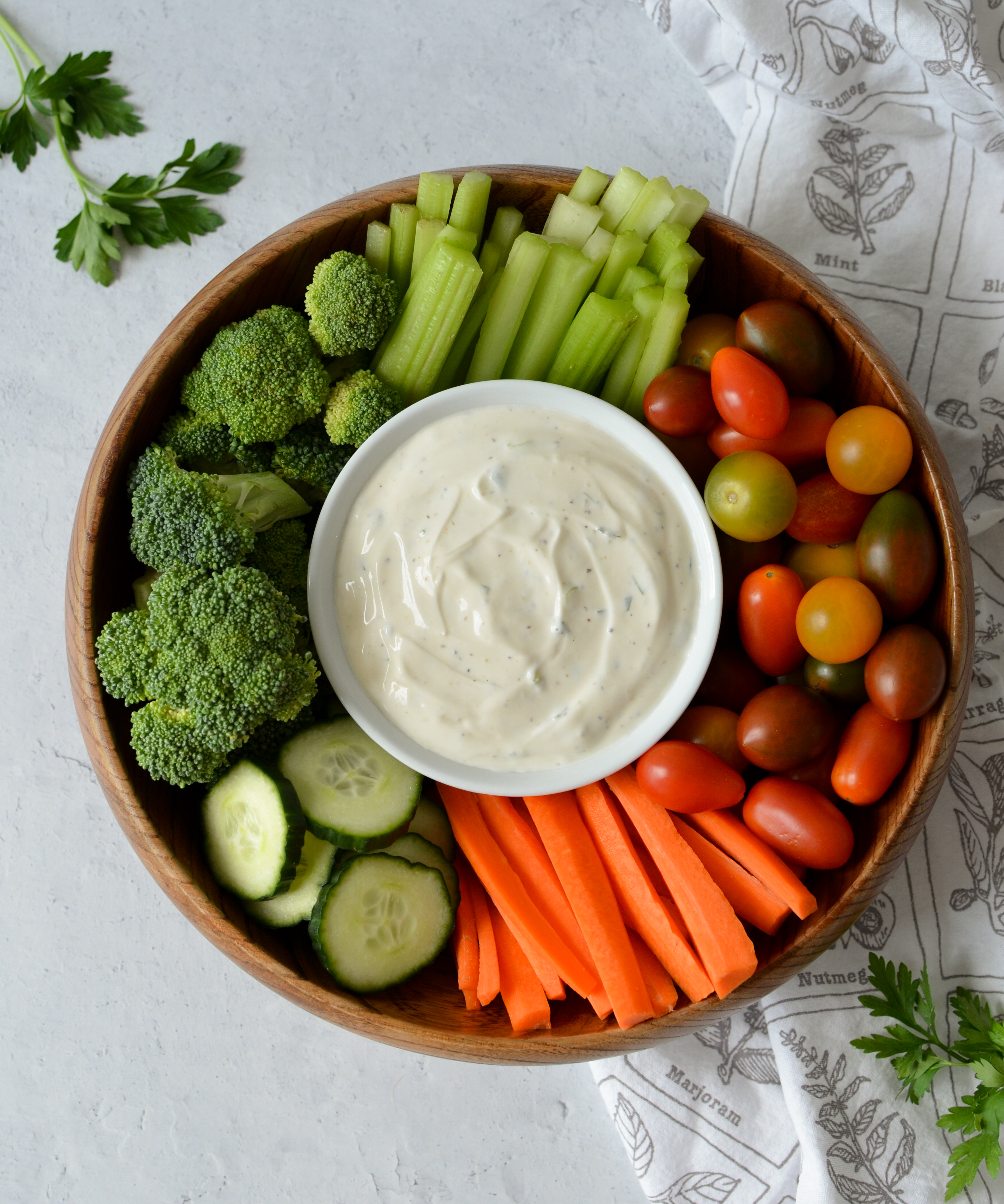 Homemade Ranch Dressing & Dip
