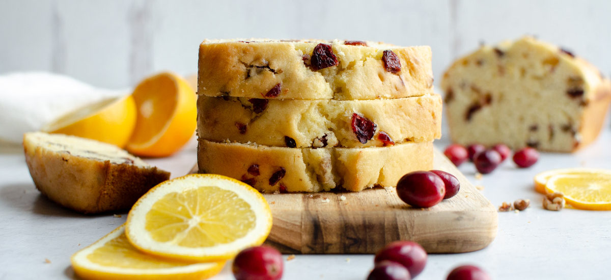 Orange Cranberry Walnut Bread