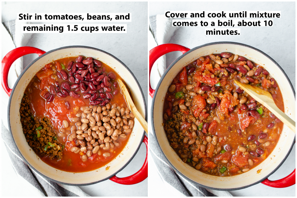Making Easy Vegetarian Chili