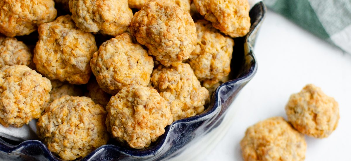 Easy Homemade Vegetarian Sausage Balls