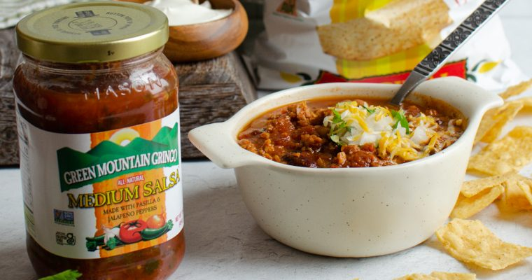 Game Day Chili with Salsa