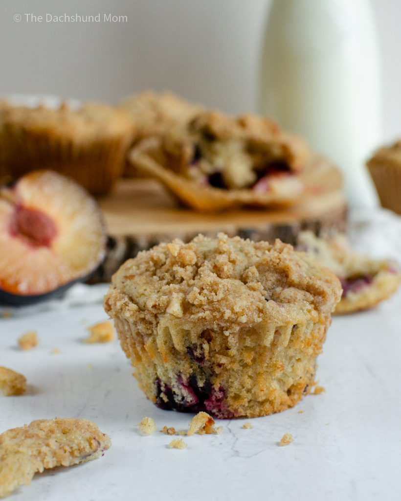 Almond Streusel topping on a muffin